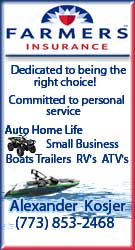 Auto, Home, Boat, Life insurance - Give Alex a call